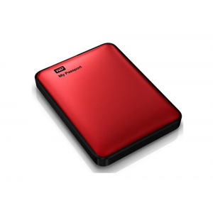 Western Digital My Passport WDBY8L0020BRD - 2 TB - Κόκκινο