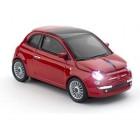 Click Car Mouse Fiat New 500 Κόκκινο