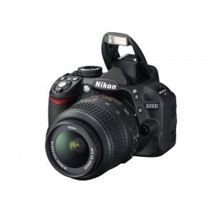 Nikon D3100 Kit - 14.2 Mpixels - Φωτογραφική μηχανή - Μαύρο