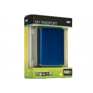 Western Digital My Passport WDBKXH5000ABL 500 GB - Μπλε