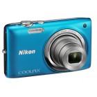 Nikon Coolpix S2700 - Line Art - Μπλε