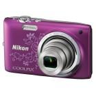 Nikon Coolpix S2700 - Line Art - Μωβ